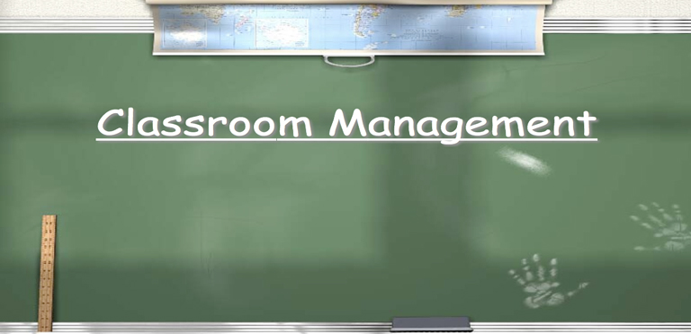 Innovative Classroom Management ~ Classroom control interferes with innovation