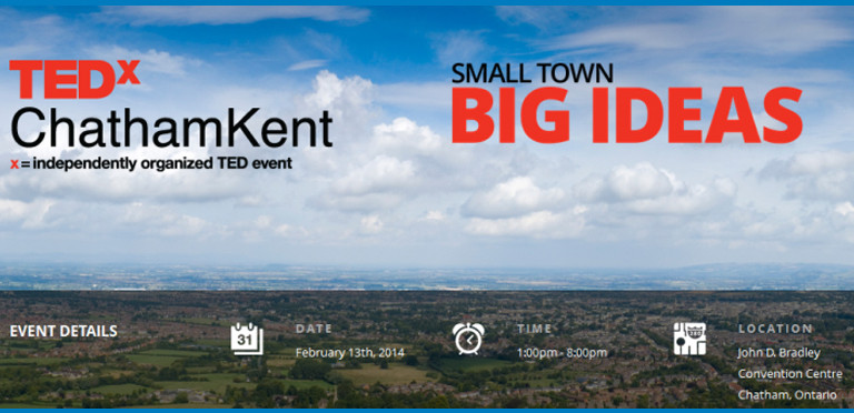 TEDX Chatham Kent - Small Town, Big Ideas - Why This Conference is so Important For Me as a Teacher