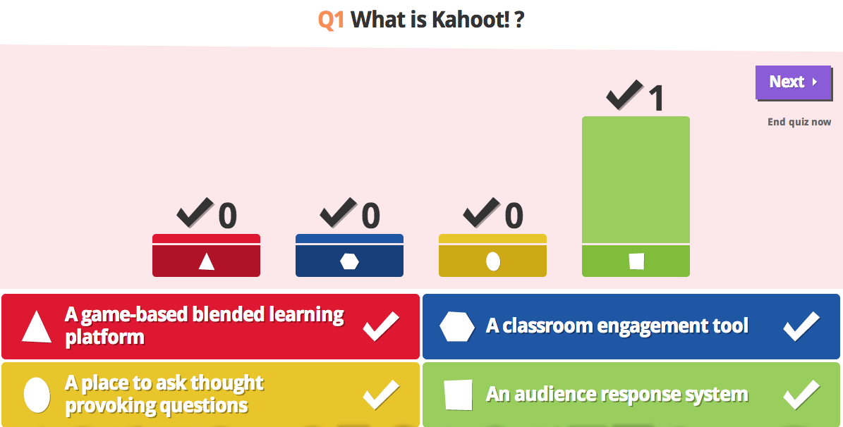From Rote Learning to Blended Gaming with @GetKahoot!
