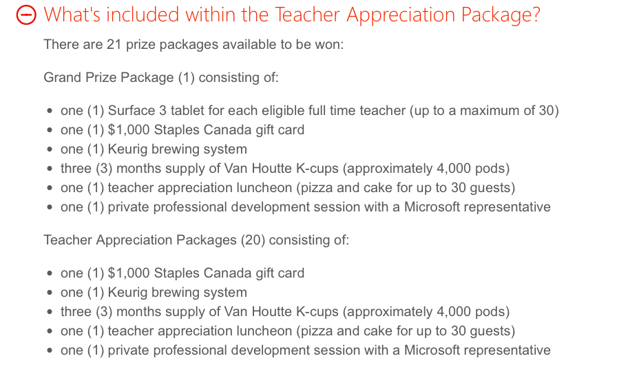 Thank You, Teachers!