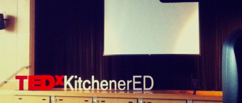Join me at TEDxKitchenerED