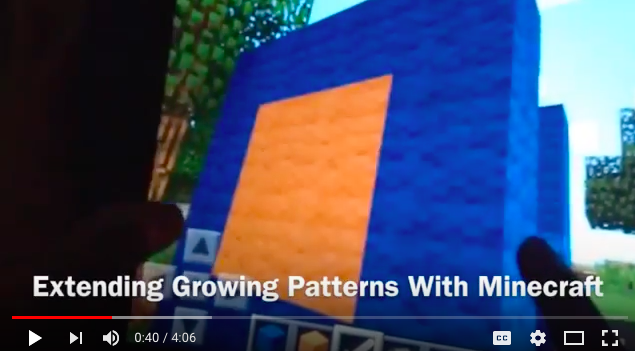 Minecraft: Spatial Sense, Structures & Growing Patterns