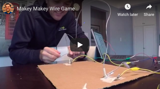 The Makey Makey Wire Game
