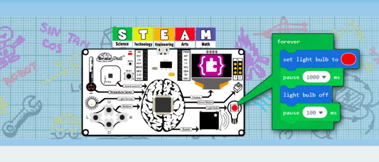 Introducing Brainpad - An Exciting NEW STEAM Mini Computer