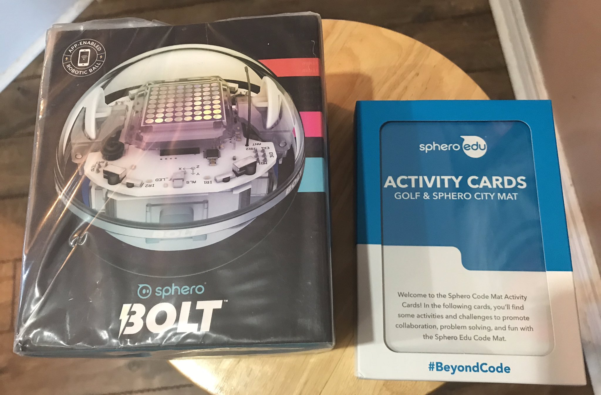 Win a FREE Sphero Bolt!