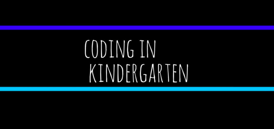 Coding in Kindergarten via @McMenemyTweets