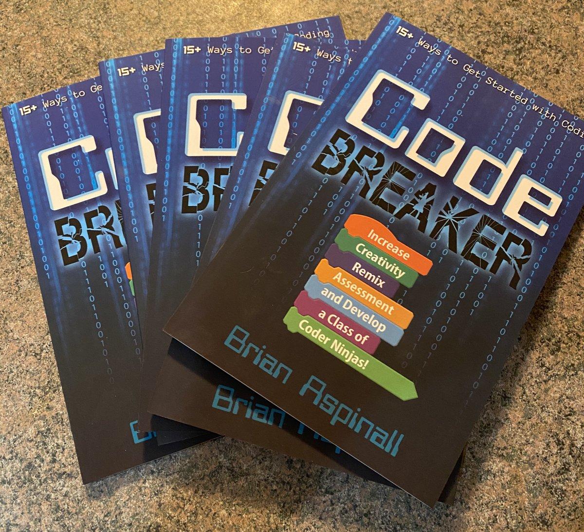 2020 Code Breaker Book Giveaway!