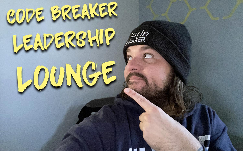 Code Breaker Leadership Lounge