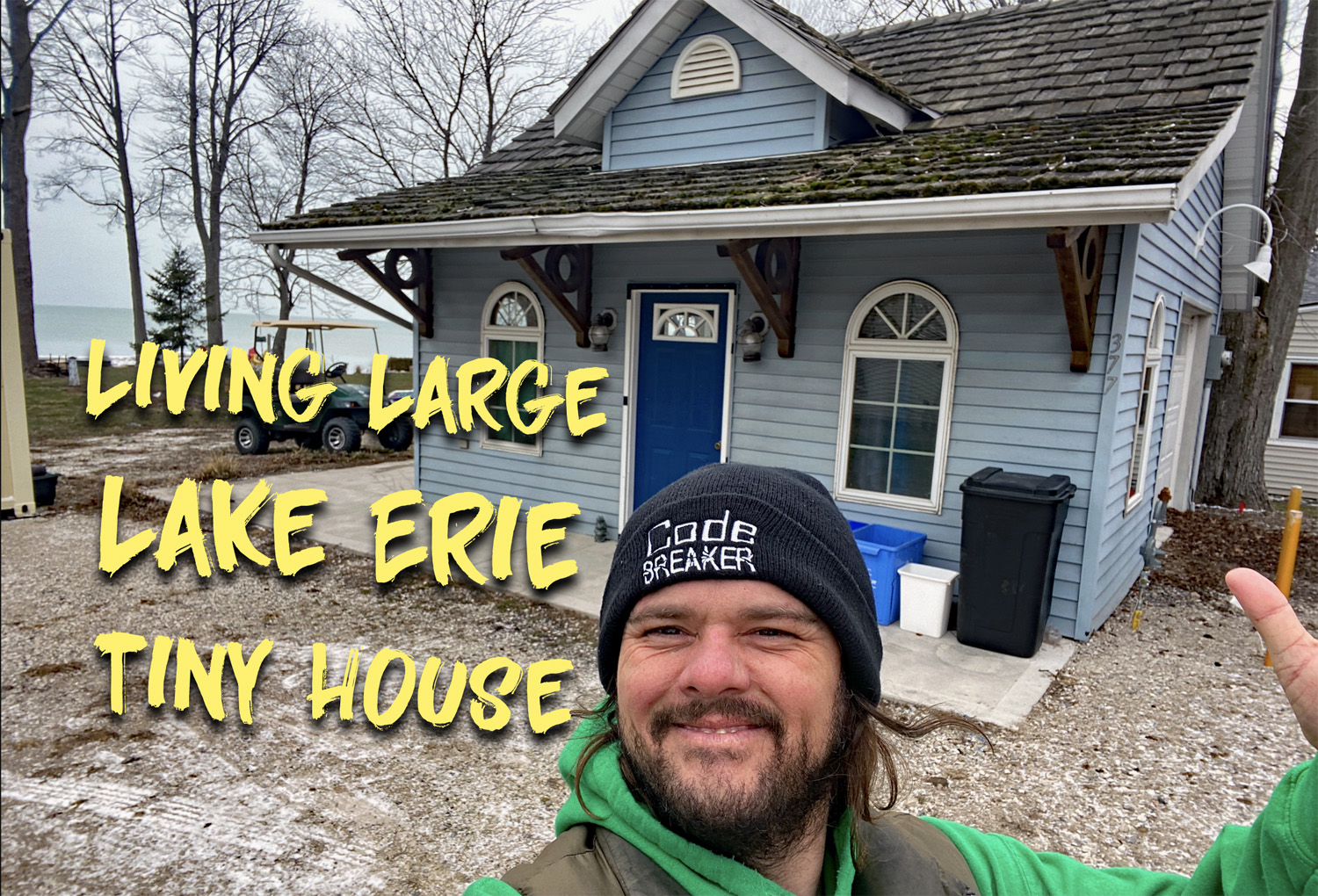 Living Large in a Lake Erie Tiny House