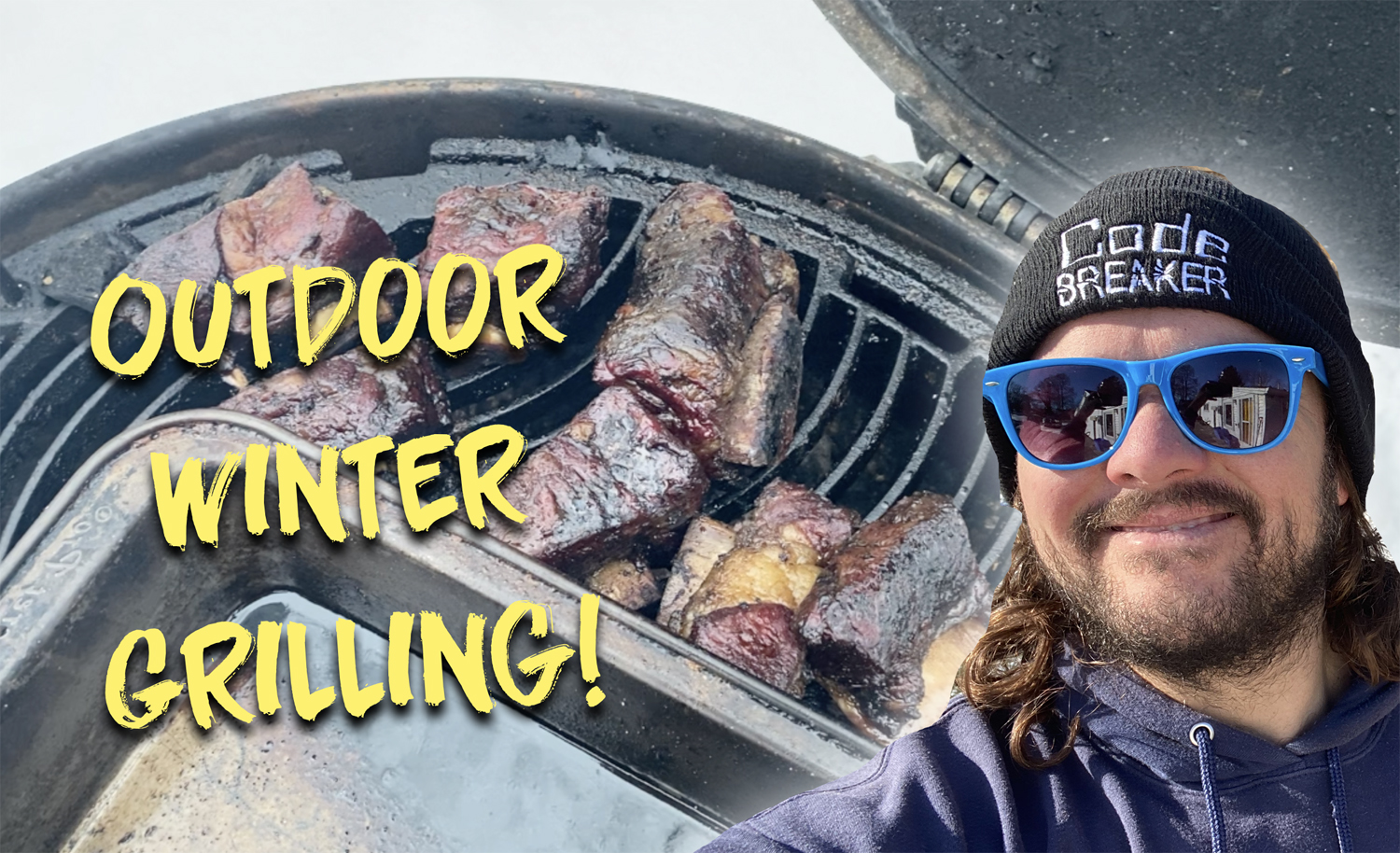 Outdoor Winter Grilling!