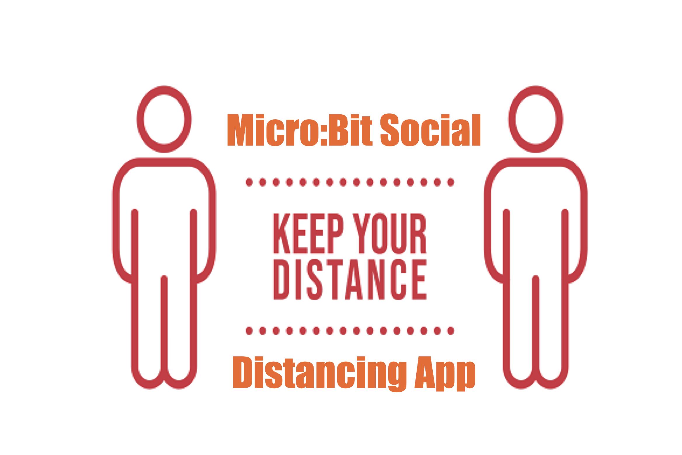 Coding A Micro:Bit Social Distancing App