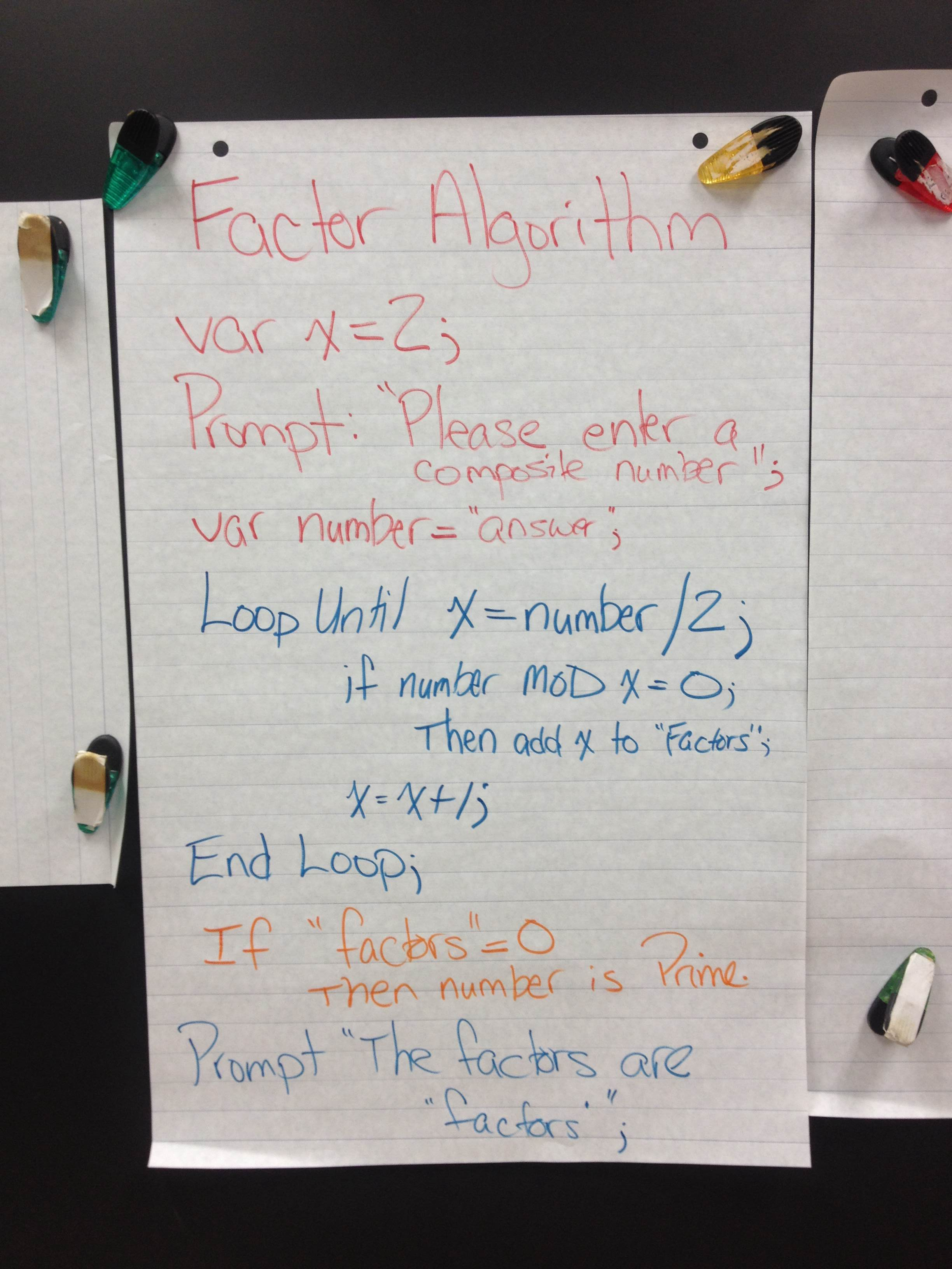 Finding The Factors of a Number Using Computer Science by @mraspinall #edtech