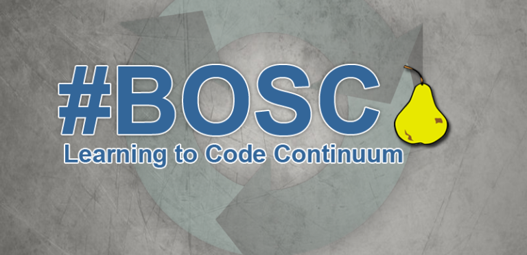 #BOSC - A Learning to Code Continuum