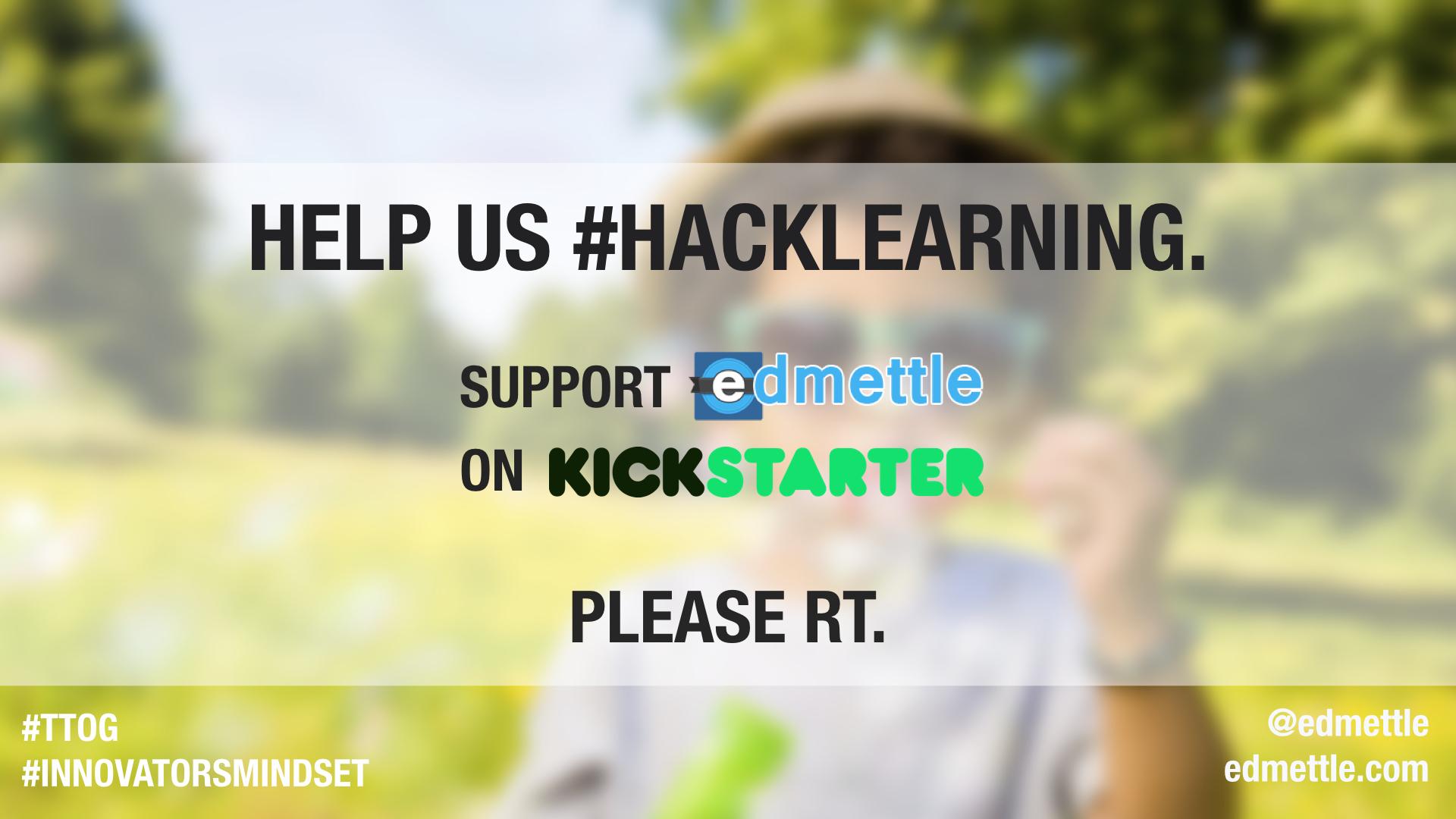 Support @edmettle on @kickstarter