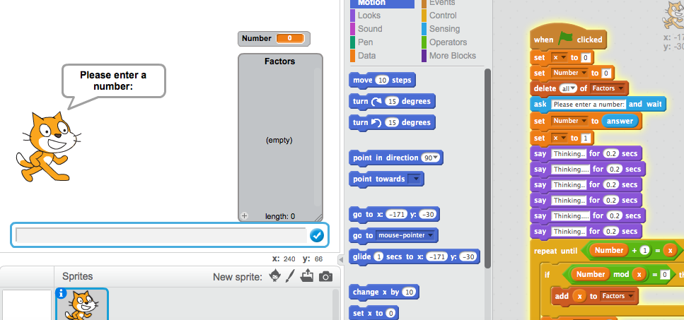 Coding the Factors of a Composite Number #CodeBreaker
