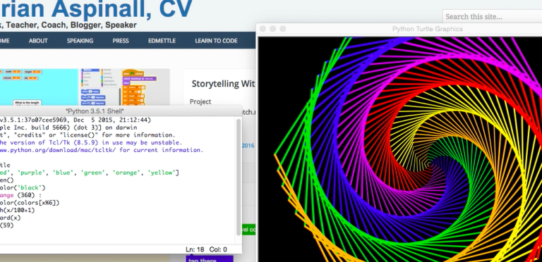 Coding Spiral Art With Python