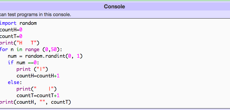 Python & Probability
