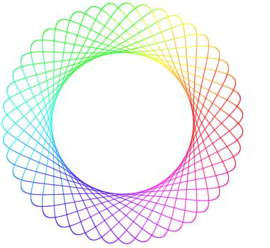 Swirlly - Online Spirograph