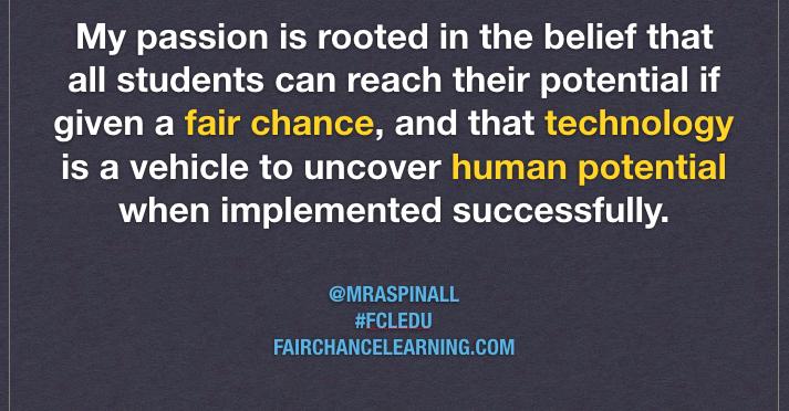 Technology Gives All Kids a Fair Chance