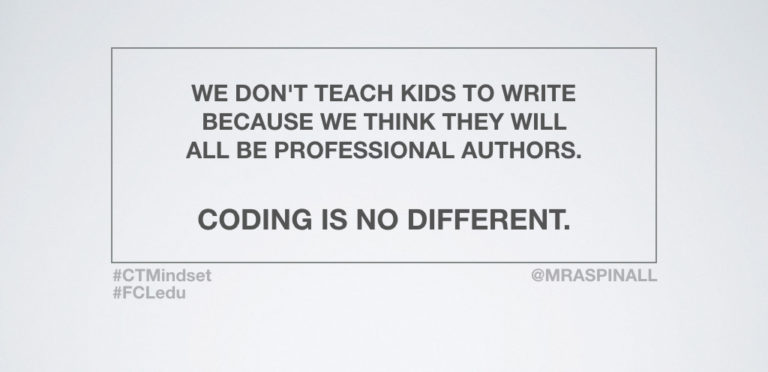 Coding: Developing Rigorous Thinkers