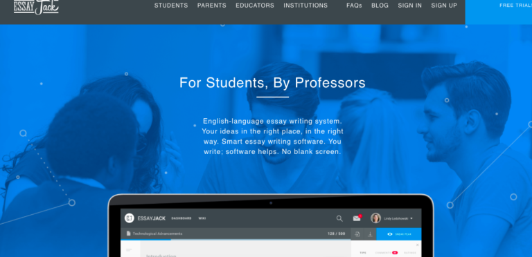 EssayJack - The English-Language Essay Writing System