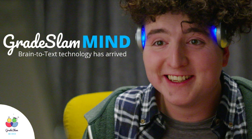 GradeSlam MIND - Brain to Text Technology Has Arrived!
