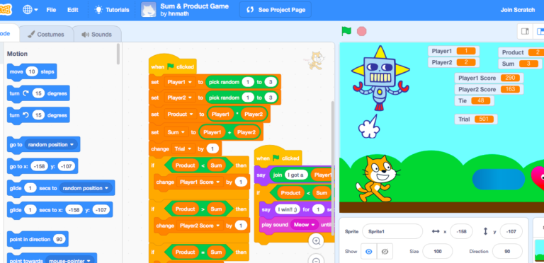 Using Code to Empower Math Learning via @MsNizam5