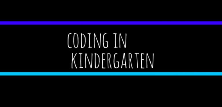 Coding in Kindergarten via @McMenemyTweets