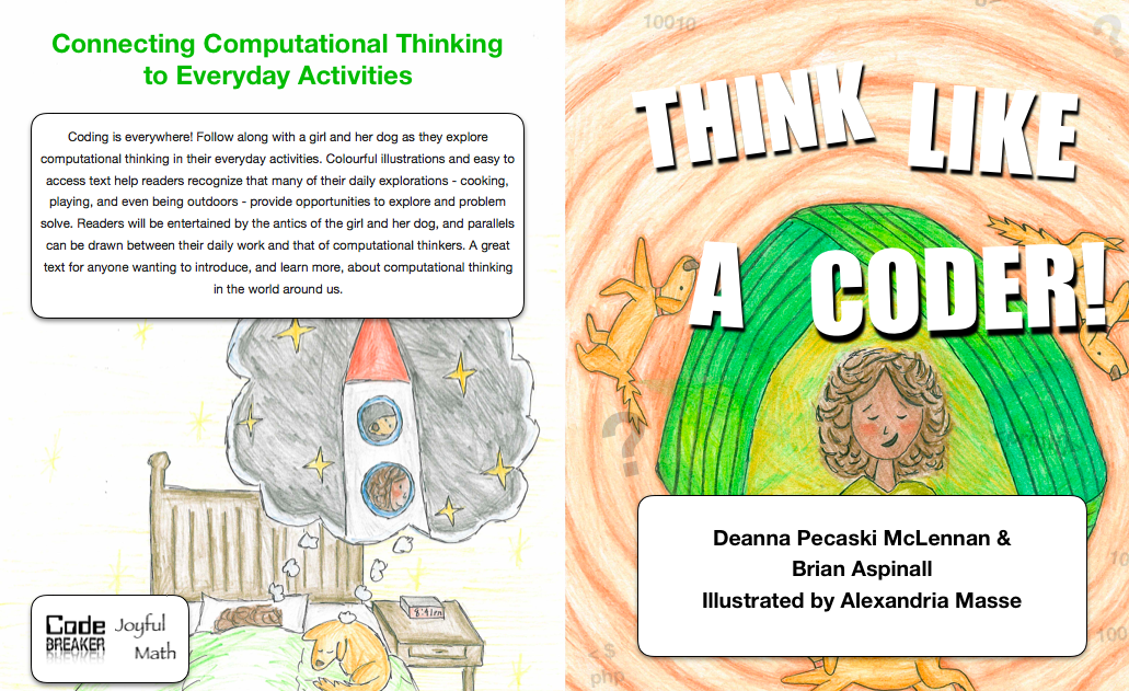 Think Like A Coder! A New Children's Book!