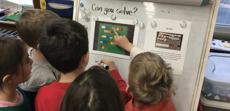 Coding With The Littles! via @MsPhillipsHRCE