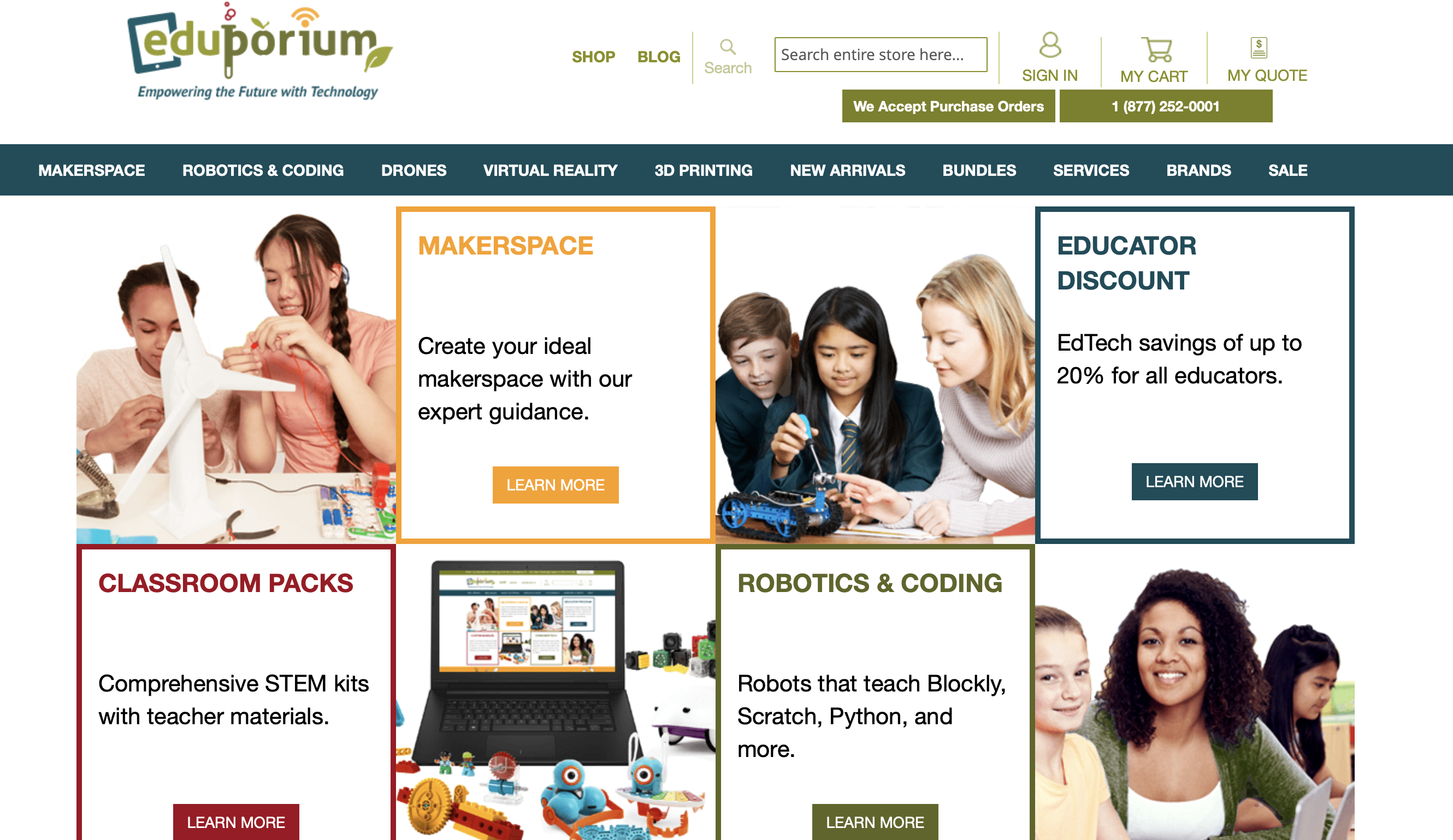 Eduporium - Empowering The Future With Technology