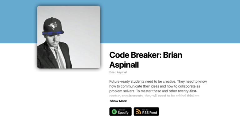 Listen to the NEW Code Breaker Podcast!