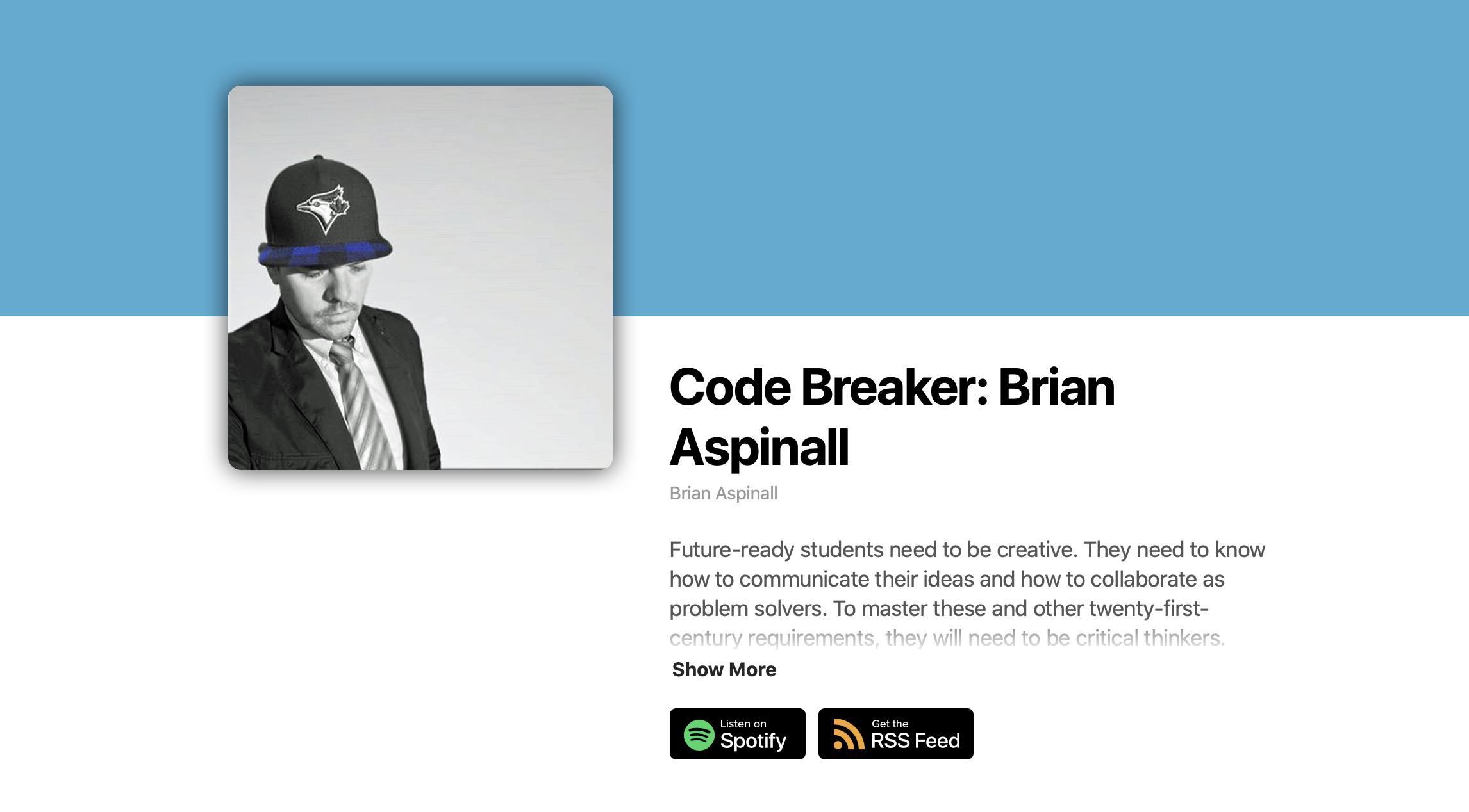 Listen to the NEW Code Breaker Podcast!